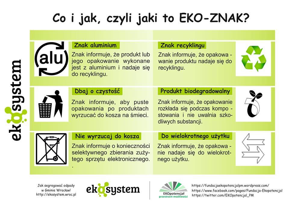 ulotka eko znak 1