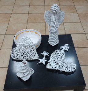 Warsztaty z upcyclingu - wiklina papierowa
